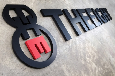 TheEight - 3D Logo