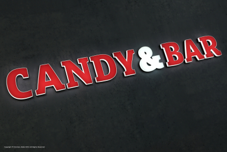 CANDY AND BAR