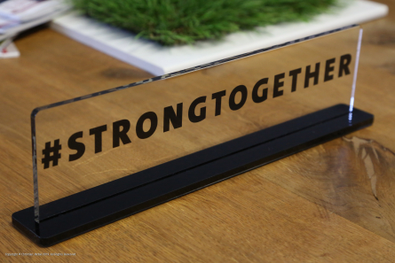 Hashtag Strongtogether - Teleclub AG