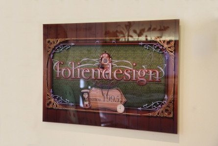 Wandbild foliendesign