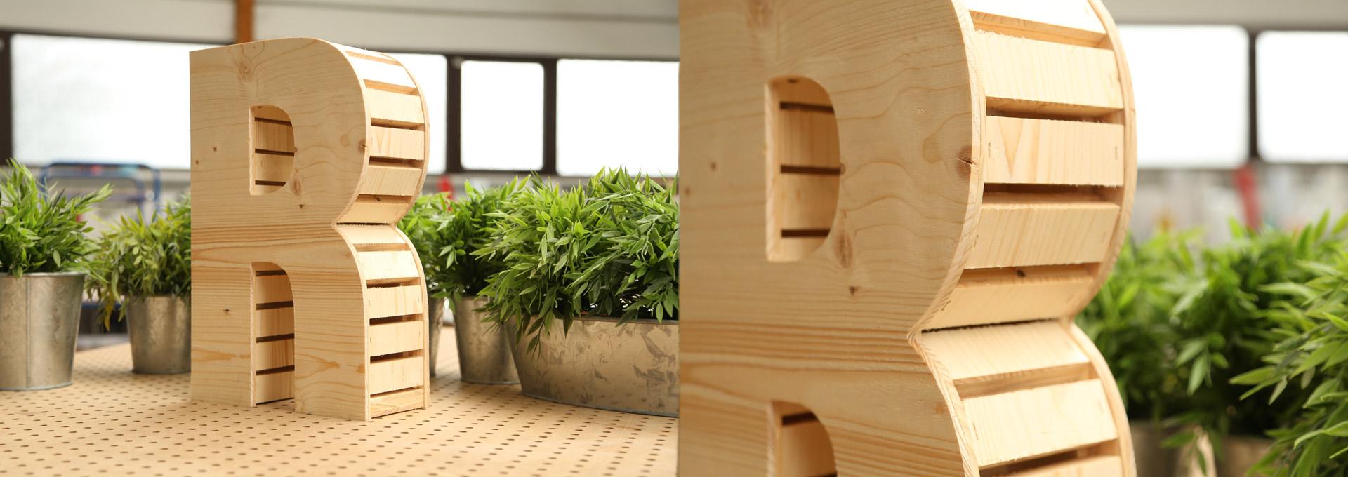 Buchstaben Aus Holz Groß